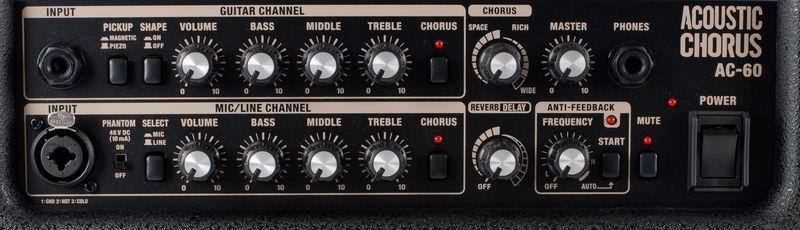 Roland AC-60 funktioner